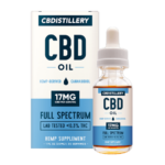 CBDistillery Oil 17MG Full Spectrum Oil