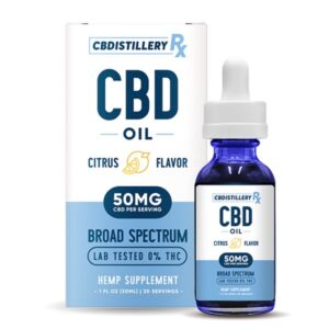 CBD Oil Broad Spectrum Tincture 1500mg